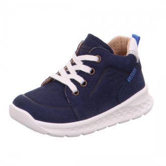 Dětské kožené boty na zavazování Superfit 1-000366-8000