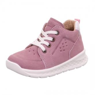 Kožená dětská obuv na zavazování Superfit 1-000366-8500