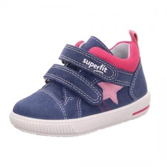 Dětské celoroční boty na suchý zip Superfit 0-609352-8100