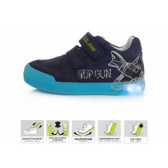 Dětské celoroční blikací boty DDStep 068-45M
