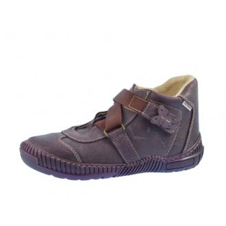 Dětské celoroční boty 1403/2 fialová