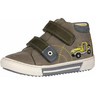 Celoroční kožené boty SZAMOS 1592-200733