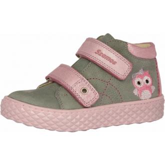 Celoroční kožené boty SZAMOS 1592-500132