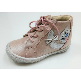 Celoroční dětské kožené boty SZAMOS 1594-604111