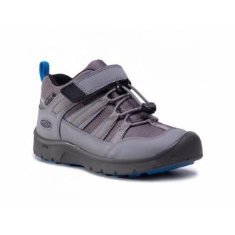 Dětské celoroční membránové boty Keen Steel grey/Brilliant blue