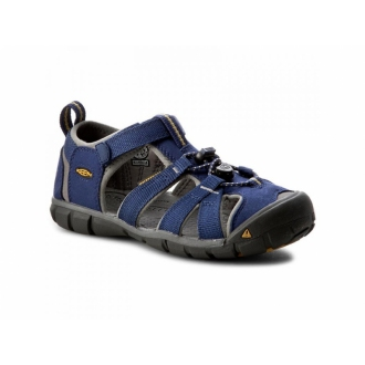 Dětské sandály Keen Seacamp Blue depths/Gargoyle