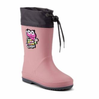 Dětské holiny Coqui 8508 Powder pink/Dk. grey