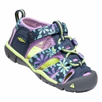 Dětské sandály Keen Seacamp Black iris/African violet