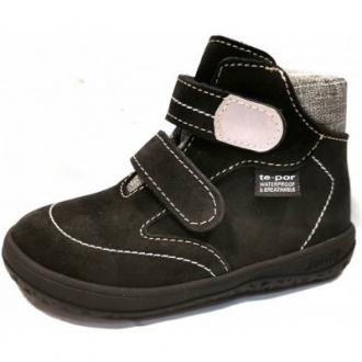 Dětská celoroční barefootová obuv Jonap B3S Šedá