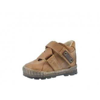 Dětské celoroční boty Pegres 1402 Hnědá