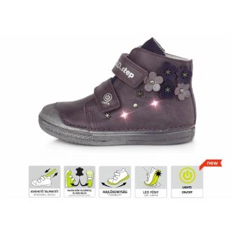 Dětské celoroční kožené boty DDStep A049-885