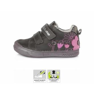 Dětské celoroční kožené boty DDStep S040-972