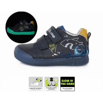Dětské celoroční kožené boty DDStep S068-716BM