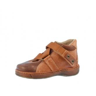 Dětské celoroční boty Pegres 1402 oranžová