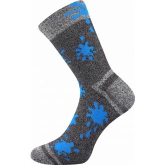 Hawkik Šedá/Tm.Modrá VOXX funkční ponožky pro děti