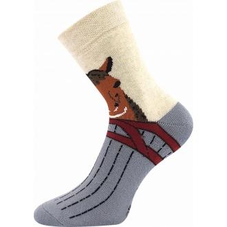 Sibiř Koník  VOXX dětské froté ponožky