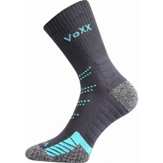 VOXX Linea TM. Šedá Sportovní ponožky, froté chodidlo