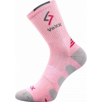 VOXX Tronic dětské funkční ponožky sv. růžová