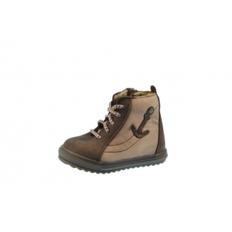 Dětské celoroční boty Santé 730/301 hnědá